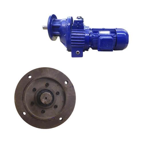 MOTOREDUTOR LC9 2.2 KW 3 CV 1680 RPM 220/380V